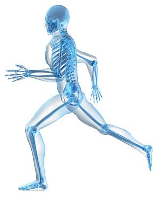 lichaam in beweging